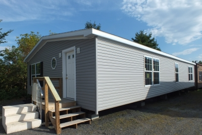 Photo Of Double Wide Home 5225-508 Gray Exterior