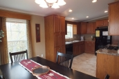 Photo Of Double Wide Home 5225-508 Furnished Dining Area Looking Into Kitchen