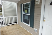 Photo Of Single-Wide Home F-44831 Exterior Deck And Front Door With Window