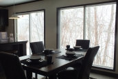 Photo Of Double Wide Home 302 Stock Model Dining Area With Large Sliding Glass Doors