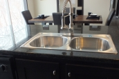 Photo Of Double Wide Home 302 Stock Model Kitchen Sink And Faucet