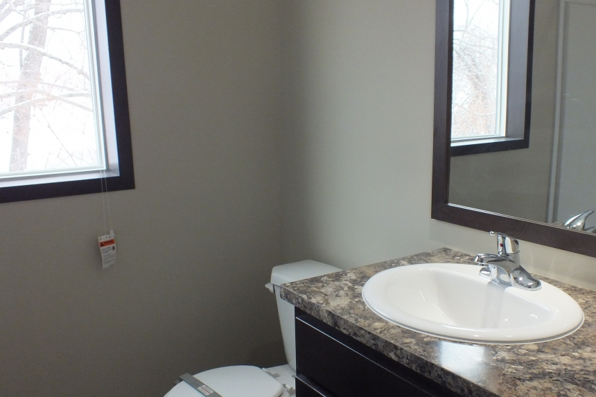 Photo Of Double Wide Home 302 Stock Model Bathroom Sink And Mirror