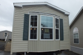A Photo Of 98 Stock Model Single Wide Home Exterior