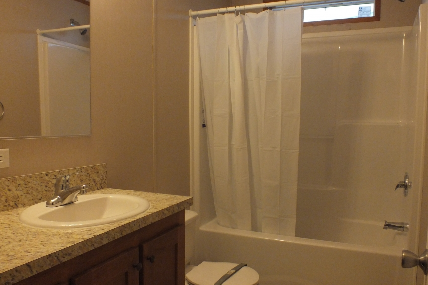 Photo Of Single Wide Home 294 Stock Model Bathroom Tub