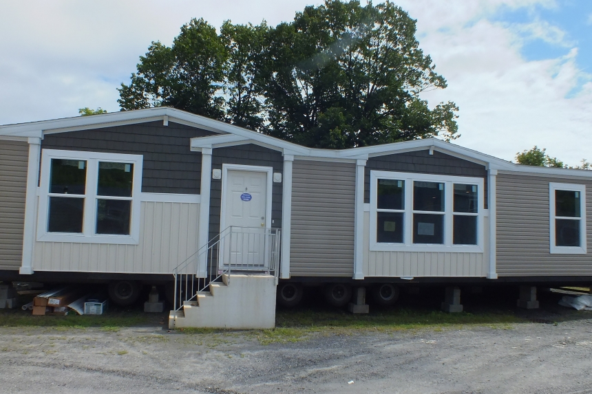 Photo Of Double Wide Home 302 Stock Model Multicolored Exterior