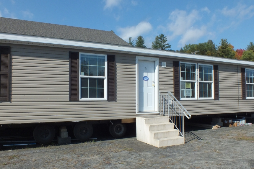 Photo Of Double Wide Home 304 Stock Model Beige Exterior