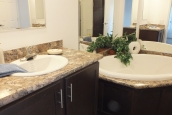 Photo Of Double Wide Home 303 Stock Model Bathroom Tub And Sink