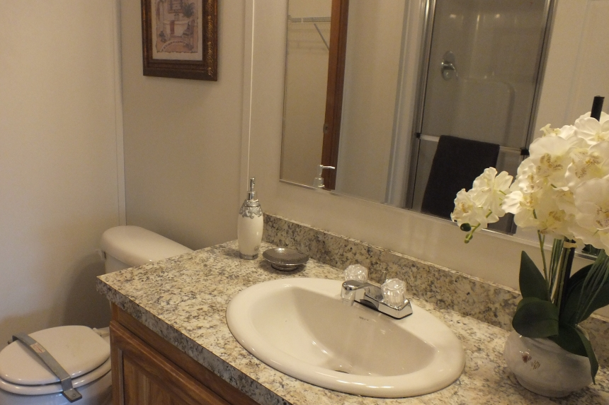Photo Of Double Wide Home 304 Stock Model Bathroom Sink And Vanity