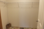 Photo Of Double Wide Home 304 Stock Model Closet With Wire Shelving
