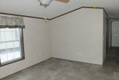 Photo Of 306 Stock Model Single-Wide Home Unfurnished Living Area With Large Window