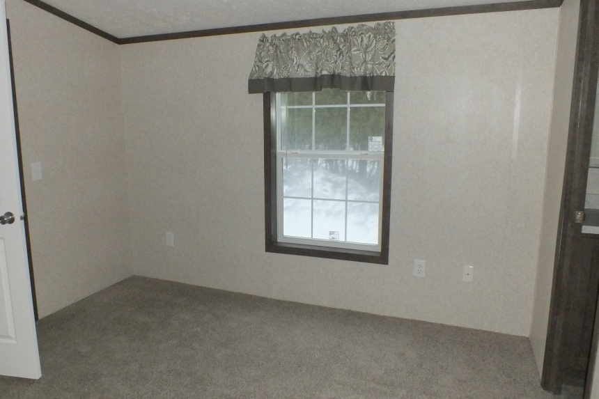 Photo Of 306 Stock Model Single-Wide Home Unfurnished Room With Bright Window