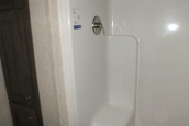 Photo Of 306 Stock Model Single-Wide Home Shower