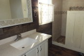 Photo Of Double Wide Home 1987 Pine Grove Bathroom With Vanity And Shower