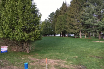 A Photo Of Lot 78 Lisa Drive In Barre Town With Trees Ready For Manufactured Home