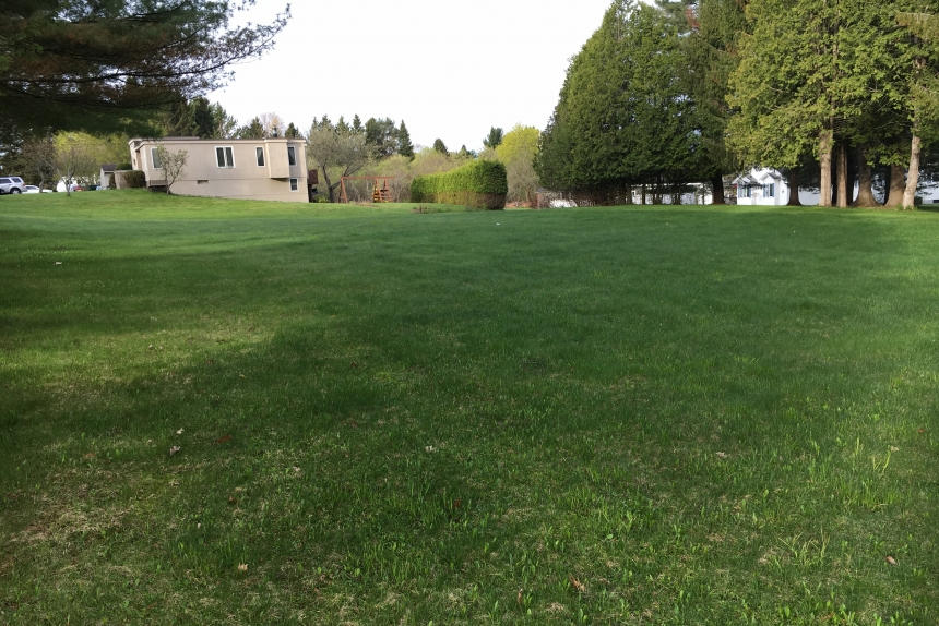 A Photo Of Lot 77 Lisa Drive Barre Town Ready For A Modular Home With Town Water And Sewer.