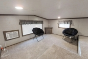 Featured Park Model 39Ukl Large Living Area With Two Chairs And Windows