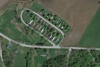 Satellite Map Of Verd Mont Road Waitsfield  Vermont For Single Wide Home Placement