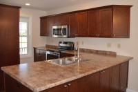 A photo of  townhouse kitchen at Fecteau Circle in Barre Vermont